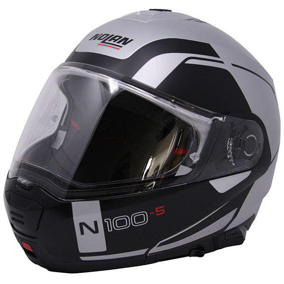 Nolan N100-5 Consistency Flat Silver