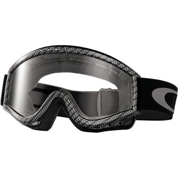 Oakley L Frame MX Goggles Carbon