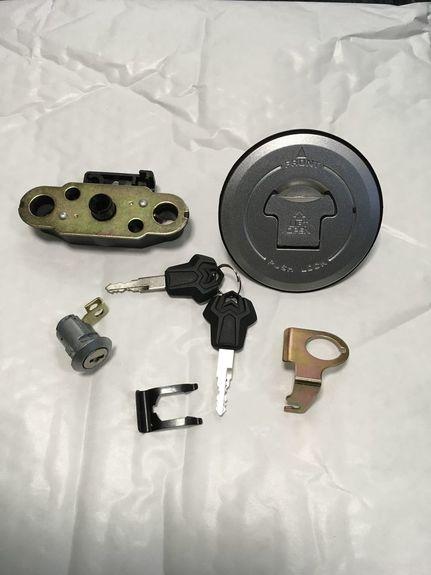 petrol cap & seat lock lightly used