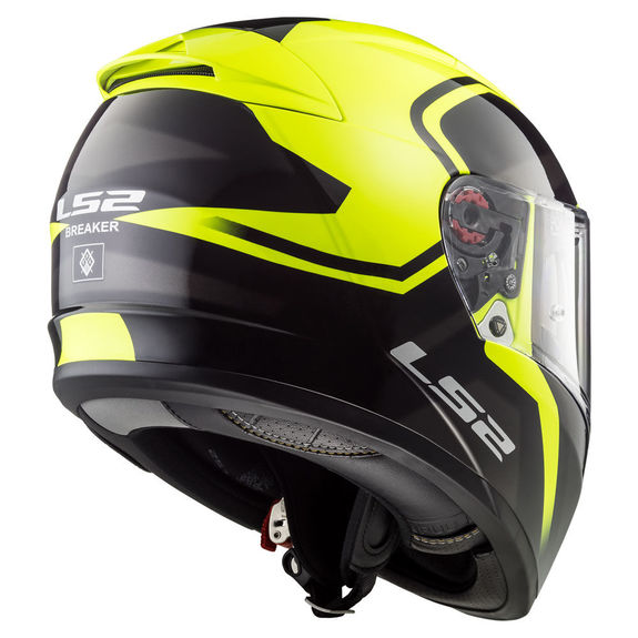 LS2 FF390 Breaker Bold Hi Vis Helmet