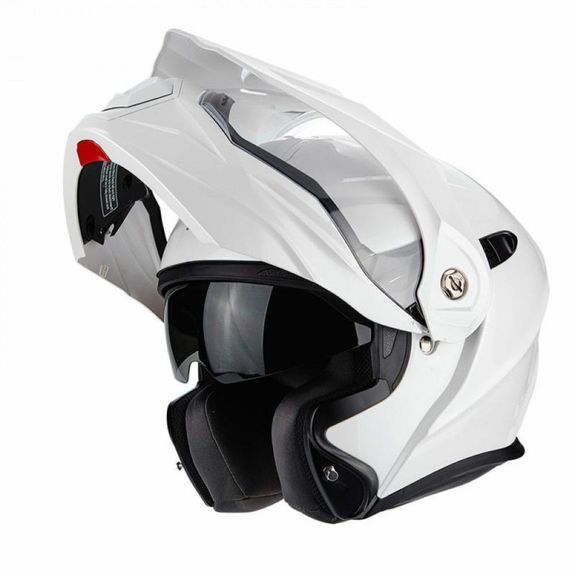 Scorpion ADX1 Pearl White Adventure Touring Helmet