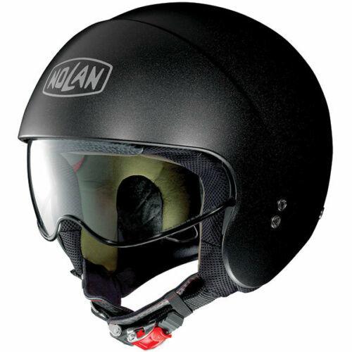 Nolan N21 Special Open Face Helmet Black Graphite