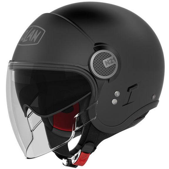 Nolan N21 Visor Classic Motorcycle Helmet Flat Black