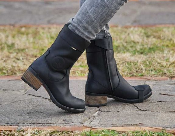 FALCO AYDA 2 Ladies Motorcycle Boots BLACK