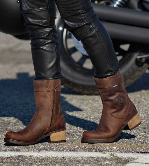 FALCO AYDA 2 Ladies Motorcycle Boots Brown
