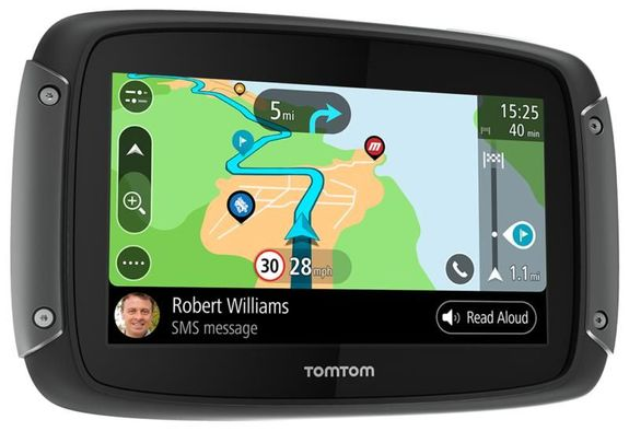 Tom Tom Rider 550 World Sat nav