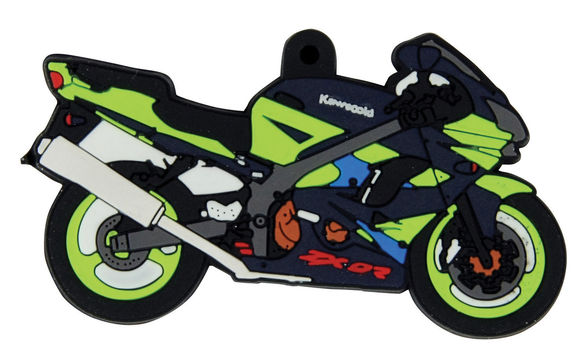 Kawasaki ZX9R Motorcycle Key Ring
