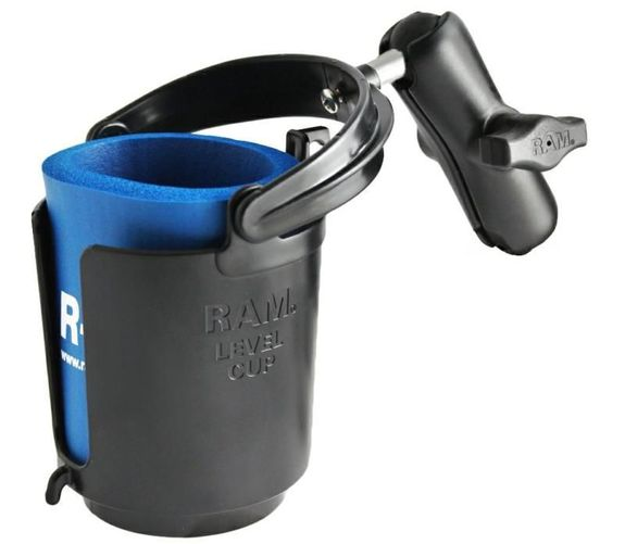 """RAM CUP HOLDER WITH 1"""" BALL"""