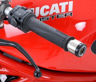 Bar End Sliders for Renthal, LSL Bars & Ducati 848/Diavel & Monster 1200 S '14- & KTM RC125/200 '14-