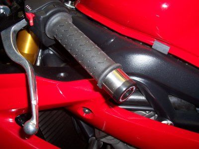 Bar End Sliders for Daytona 675 models