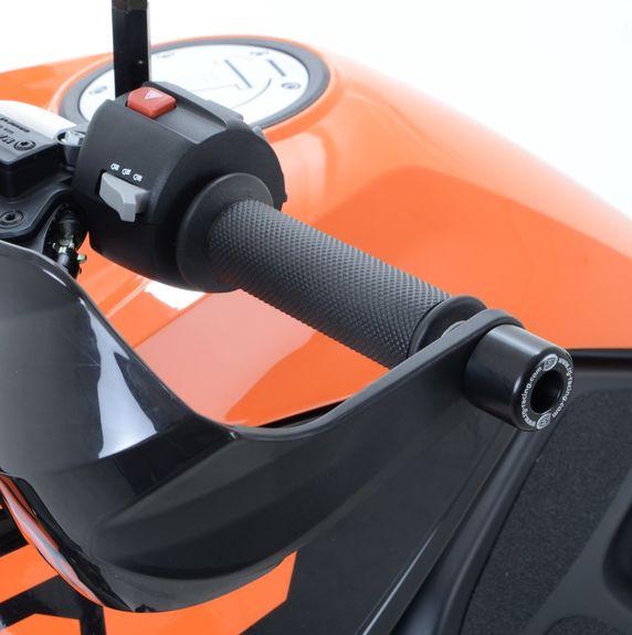 Bar End Sliders for KTM 1190/1290 Adventure,  Husqvarna FS 450 and Tracer 700 '16-