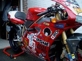 R&G Crash Protectors - Classic Style - Ducati 748 -'01