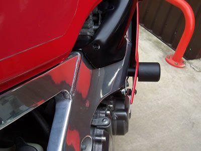R&G Crash Protectors - Classic Style - Honda CBR400 Gull Arm (NC29 frame)
