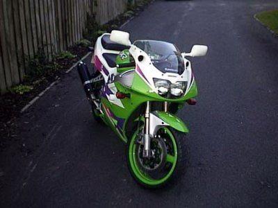 R&G Crash Protectors - Classic Style - Kawasaki ZXR400