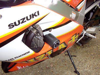 R&G Crash Protectors - Classic Style - Suzuki GSXR600 K1-K3