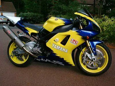R&G Crash Protectors - Classic Style - Yamaha YZFR1 '98-'99