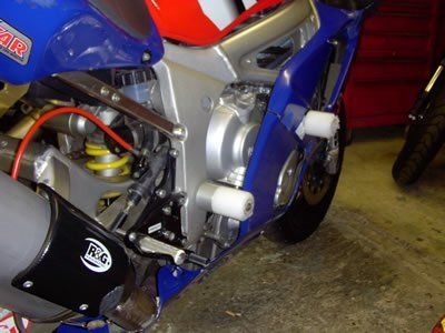 R&G Crash Protectors - Classic Style -Yamaha YZF-R6 LOWER '99-'02