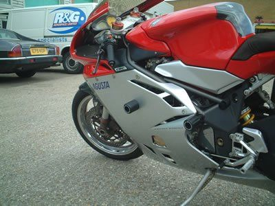 R&G Crash Protectors - Classic Style - MV Agusta F4 and the F4 1000R LOWER