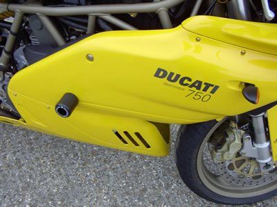 R&G Crash Protectors - Classic Style - Ducati 600SS, 750SS, 900SS and 1000DS '99-'00