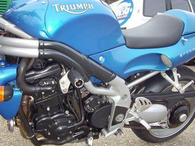 R&G Crash Protectors - Classic Style - Triumph Speed Triple '97-