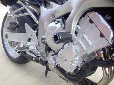 R&G Crash Protectors - Classic Style - Yamaha Fazer 600 and FZ6 '04-