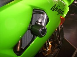 R&G Crash Protectors - Classic Style - Kawasaki ZX6-R C1H ('05), ZX6-R C2H ('06)