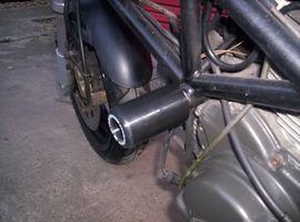 R&G Crash Protectors - Classic Style - Ducati Monster -'00