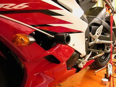 R&G Crash Protectors - Classic Style - Yamaha YZF-R6 '06-