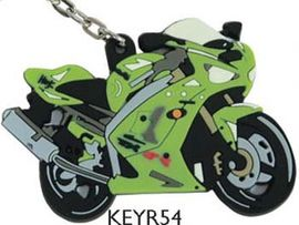 Kawasaki ZX6-R Ninja 03 mr Motorcycle Key Ring