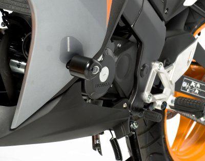 R&G Crash Protectors - Aero Style - Honda CBR125R (2011 Model)