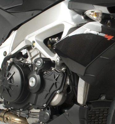 R&G Crash Protectors - Aero Style for Aprilia V4 Tuono '11-