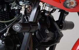 R&G Crash Protectors - Aero Style - Hyosung GT125/ GT250 (Naked bikes ONLY)