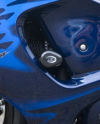 R&G Crash Protectors - Aero Style (Non Drill] - Suzuki GSXR1300R Hayabusa '08-