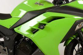 R&G  Crash Protectors - Aero Style - Kawasaki Ninja 300/Ninja 250