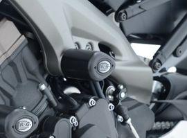 R&G Crash Protectors - Aero Style for Yamaha MT-09 models ('13-) - MID MOUNT