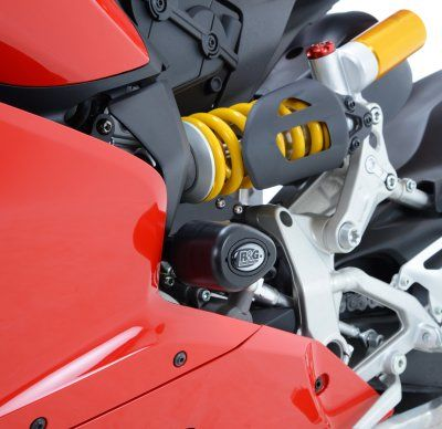 R&G Crash Protectors - Aero Style for Ducati 899 / 1199 Panigale [No Drill Kit]