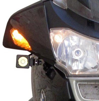 Denali Auxiliary Light Mounting Kit for BMW R1200RT, '05-'13