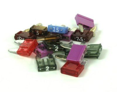 R&G Denali Assorted Mini ATM Fuses for the PowerHub2 Power Distribution Module