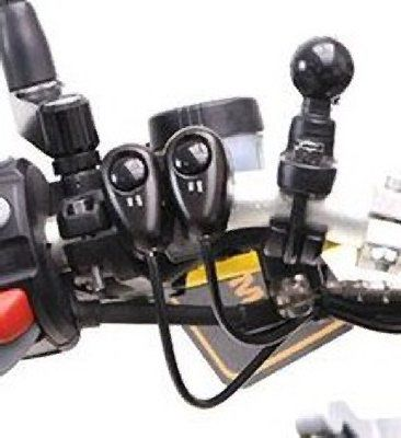 Denali Clamp-on Switch Mount For 7/8 inch Handlebars
